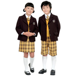 Custom Professional High School Uniforms Wholesale, Primary Kids School Uniforms pictures & photos