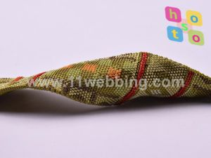 Custom fashion Woven Hollow Fake Nylon Jacquard Webbing pictures & photos