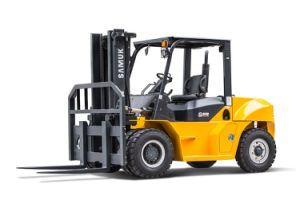 Samuk 7ton Diesel Forklift Forklift with Original Cummins Engine pictures & photos