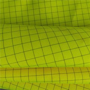 ESD Oxford Fabric with Light Yellow pictures & photos