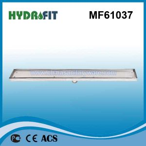 Swimming Pool Linear Stainless Steel Floor Drain Cover (MF61037) pictures & photos
