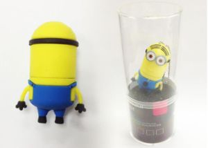 Hot-Selling PVC Minions USB Flash Drive with High Quality (EG566) pictures & photos