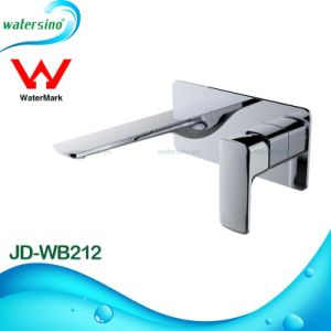 Brass Wall Mounted Basin Tap with Chrome Electroplating Finish pictures & photos