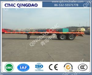 Cimc Brand 2/3axles 40FT Flatbed Semi Trailer pictures & photos