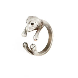 Zinc Alloy Metal Animal Ring Wrap Snake Dolphin Bronze/Silver pictures & photos