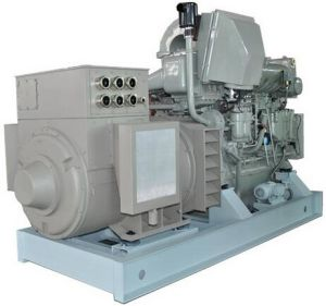 650kw 6 Cylinders Radiator Cooled Diesel Marine Genset pictures & photos