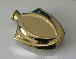 Gold Hip Flask pictures & photos