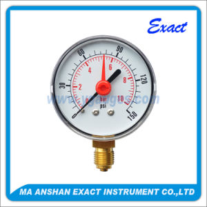 Red-Pointer Pressure Gauge-Pressure Gauge with Alerm-Pressure Gauge pictures & photos