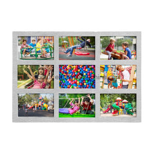 Plastic Multi Openning Home Decoration Craft Collage Photo Frame pictures & photos