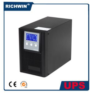 2kVA Pure Sine Wave High Frequency Online UPS Power Supply pictures & photos