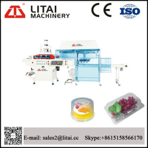 Full-Automatic Plastic Box Thermoforming & Stacking Machine pictures & photos