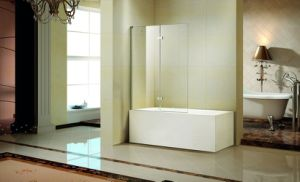 Hingle Door Tempered Glass with Bathtub (K-793) pictures & photos