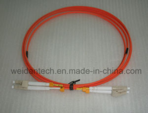LC-LC Multimode Duplex Om2 Fiber Optic Cable Patch Cord pictures & photos