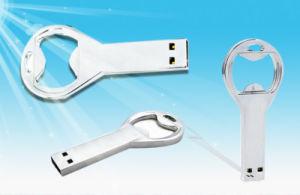 Metal Bottle Opener USB Flash Drive, Beer Bottle Opener USB2.0 Memory Stick, Silver USB Pen Drive 8 GB pictures & photos