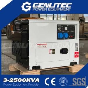 6.0kw 13HP Diesel Engine Silent Diesel Generator (DG7500SE) pictures & photos