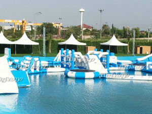 Cheap Giant Inflatable Floating Water Park for Sale pictures & photos