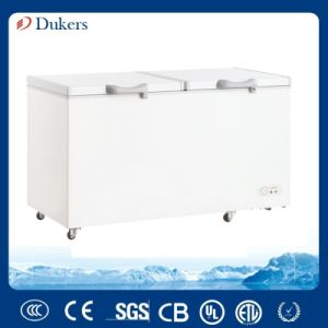 Double Doors Chest Freezer with 720 Liter Bd/Bg-720