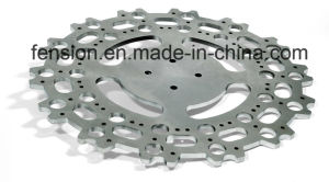 Laser Cutting of Stainless Steel Gear Base pictures & photos