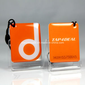 Printed Epoxy Resin RFID Tag with Customized Shapes pictures & photos