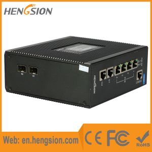 4 Megabit 2 Gigabit Ports Managed Poe Industrial Ethernet Switch pictures & photos