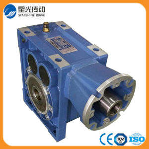 AC Motor St Mounted Bkm Helical Hypoid Gearbox Supplier pictures & photos