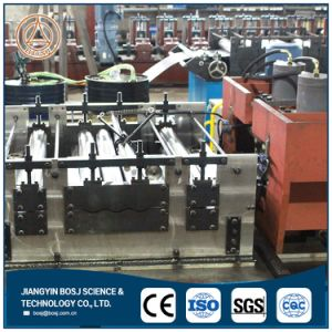 Cable Tray Perforated Ladder Type Cable Tray Roll Forming Machine Price pictures & photos