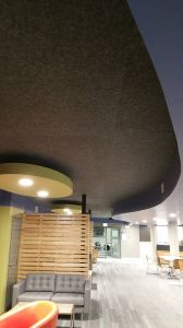 Polyester Fiber Sound Insulation for Ceilings Tiles pictures & photos