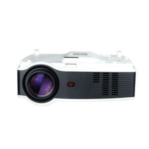 Portable Projector 1080P Support Laptops, Smartphones and HD Games pictures & photos