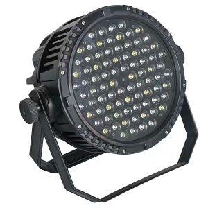 Guangzhouyuzhan IP67 Waterproof PAR Lighting, Super Quality 3W RGBW IP67 84PCS LED Outdoor PAR Lights for Sale pictures & photos