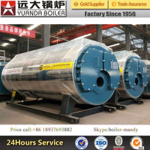 Full Automatic 0.7MW-14MW Oil Gas Fired Hot Water Boiler pictures & photos