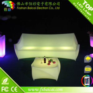 Environmental Friendlype LED Bedroom Set Furniture pictures & photos