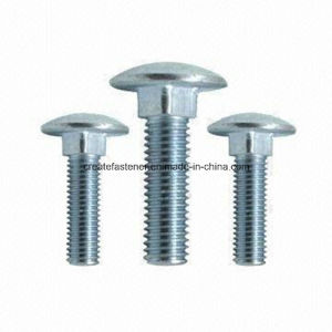 Carriage Bolts Round Head Square Neck Bots for DIN603/ASME B18.5 pictures & photos