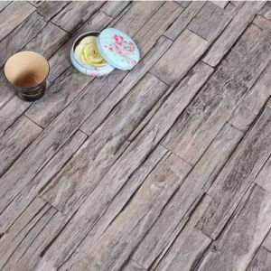 Gray Color Strips Laminated Flooring pictures & photos