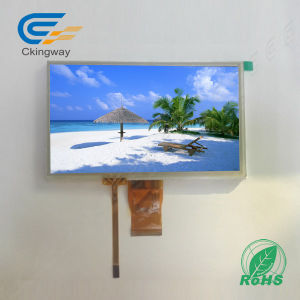 "7"" 500cr LCD Monitor with Resistive Touch Panel pictures & photos"