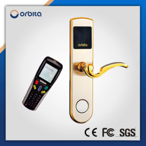 RF Digital Hotel Card Reader Smart Key Card Door Lock pictures & photos