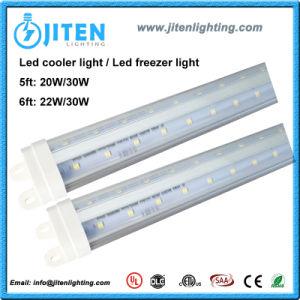V Shape 30W Clear Cover T8 6FT LED Cooler Tube Light Freezer Light UL ETL Dlc pictures & photos