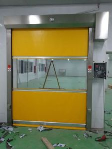 Speed Rapid Roll up PVC Fast Door pictures & photos