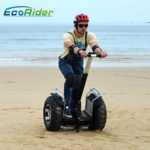 Brushless 4000W Electric Scooter Chariot with Double Battery 1266wh 72V pictures & photos