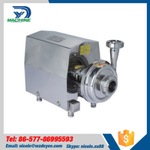 Stainless Steel Sanitary Grade Mirror Polish Centrifugal Pump pictures & photos