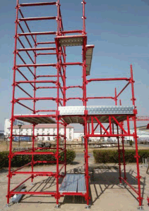 SGS Safe Construction Metal Kwikstage Scaffolding pictures & photos