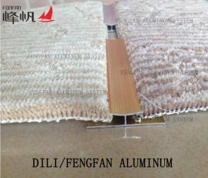 Aluminum Carpet Edge Carpet Buckle Trimming to Tighten The Rug pictures & photos