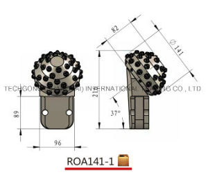 Foundation Tools Roller Cone Bits Roa141-1 pictures & photos
