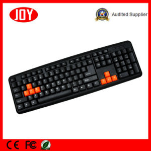 104key Portable Wired USB Djj2117 Keyboard for PC and Laptop pictures & photos