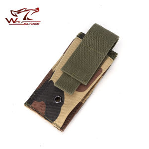 Military Tactical Molle Single Magazine Pouch for Pistol Mag Pouch pictures & photos