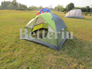 Portable Hiking Tent for 3-4 Person pictures & photos