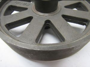 Carbon Trust Bearing Samd Mold Sand Casting Process Flywheel pictures & photos