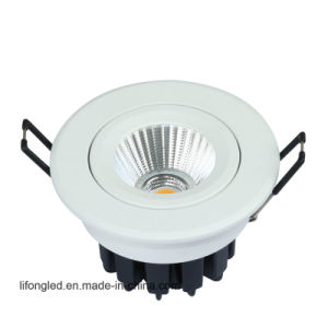 LED Ceiling Light Rotatable COB 7W LED Downlight pictures & photos