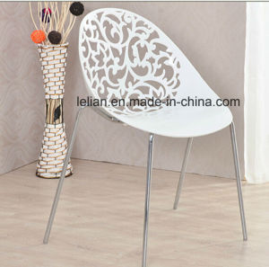 Modern Design Plastic Stacking Commercial Seating, Garden Chair (LL-0064) pictures & photos