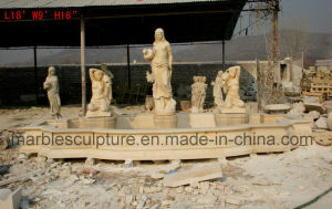 Marble Fountain Stone Fountain Statue Fountain Mf-030 pictures & photos