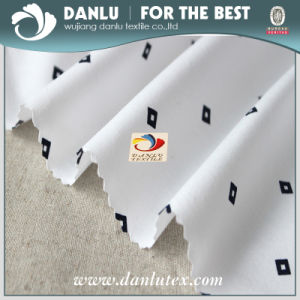Elastic Poplin Fabric with Small Diamond Printed for Shirt pictures & photos